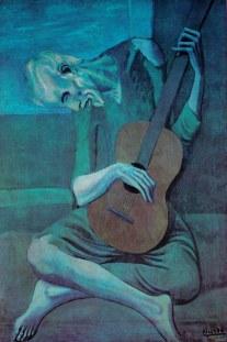 il vecchio chitarrista cieco