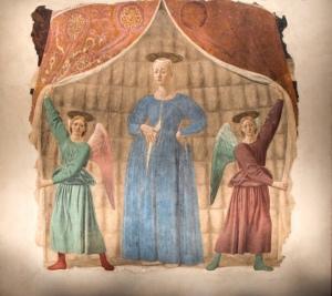 La Madonna del parto di Piero delle Francesca