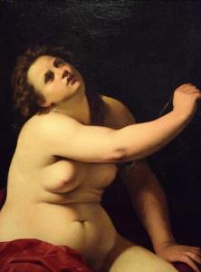 Cleopatra di Artemisia Gentileschi
