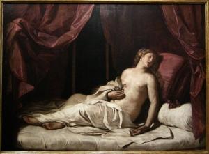 Cleopatra di Guercino
